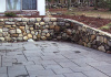 Wet Wall and Blue Stone Patio